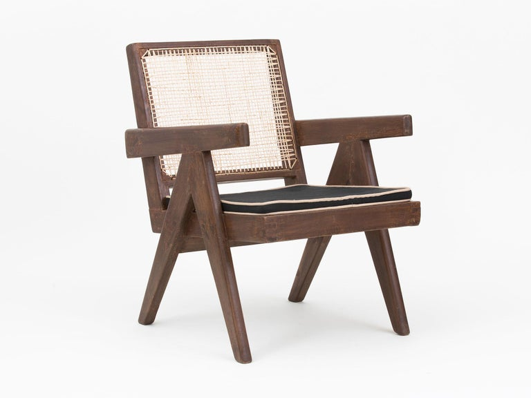 Pierre Jeanneret Low Lounge Chairs For Sale 8