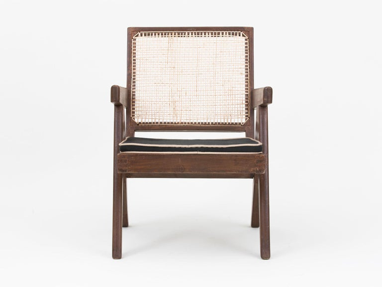 Pierre Jeanneret Low Lounge Chairs For Sale 9