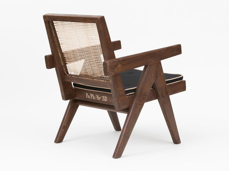 Pierre Jeanneret Low Lounge Chairs For Sale 10