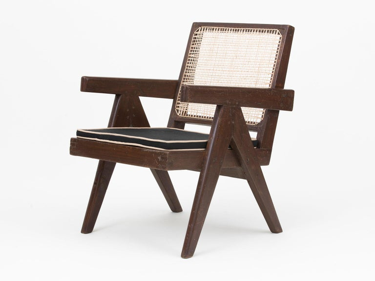 Pierre Jeanneret Low Lounge Chairs For Sale 11