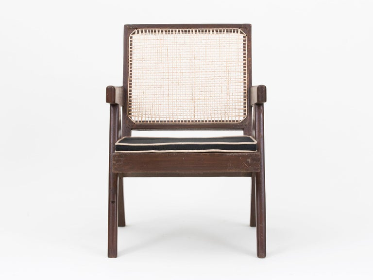 Pierre Jeanneret Low Lounge Chairs For Sale 12