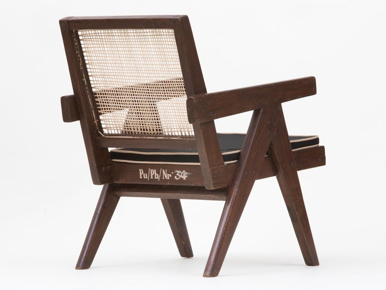 Pierre Jeanneret Low Lounge Chairs For Sale 13