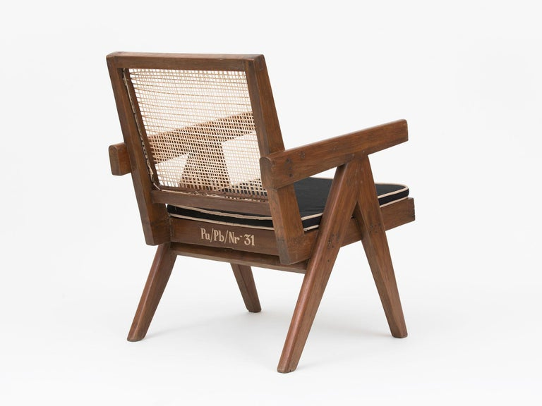 Pierre Jeanneret Low Lounge Chairs For Sale 1