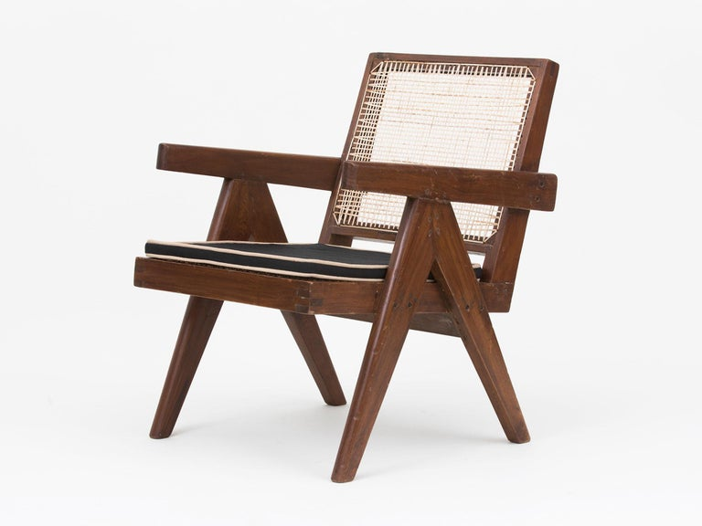 Pierre Jeanneret Low Lounge Chairs For Sale 3