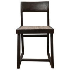 Pierre Jeanneret Mid-Century Box Chair