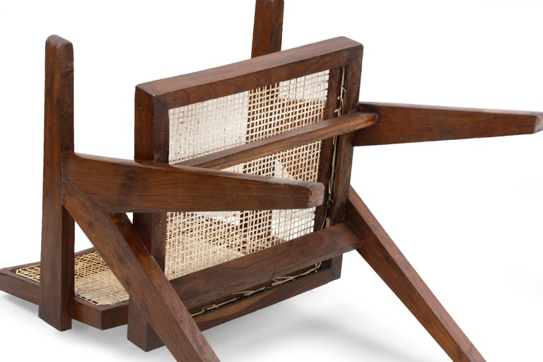 Pierre Jeanneret Office Cane Chair PJ-SI-28-A 'Authentic' 5