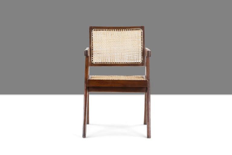 Pierre Jeanneret Office Cane Chair PJ-SI-28-A 'Authentic' 2