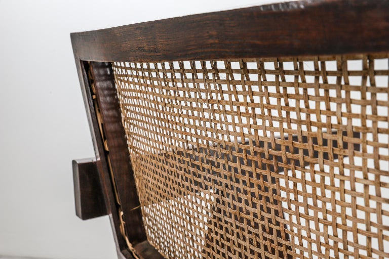 Pierre Jeanneret Office Chair Chandigarh, India: Model PJ-SI-28-A, 1950s For Sale 5