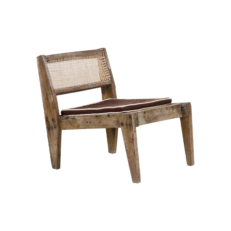 "Pierre Jeanneret Original ""Fireside chair"" 'PJ-SI-10-A'"
