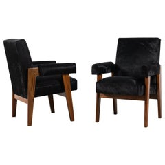 Pierre Jeanneret, Advocate armchair, circa 1955-1956