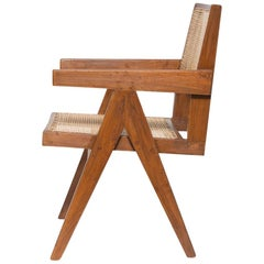 Pierre Jeanneret Pair of Armchairs of Indian Rosewood