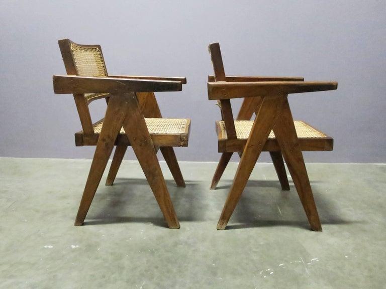 Mid-Century Modern Pierre Jeanneret Pair of