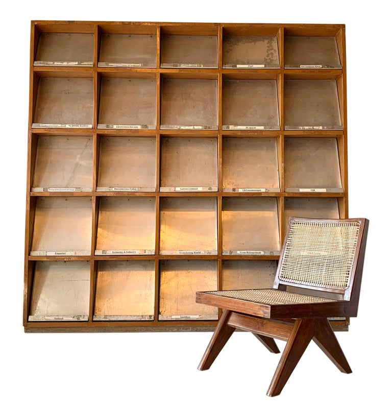 Indian Pierre Jeanneret Periodical Bookcase