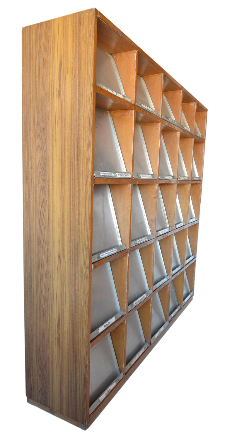 Aluminum Pierre Jeanneret Periodical Bookcase For Sale