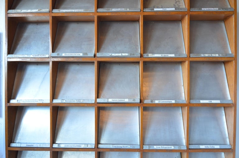 Pierre Jeanneret Periodical Bookcase For Sale 1