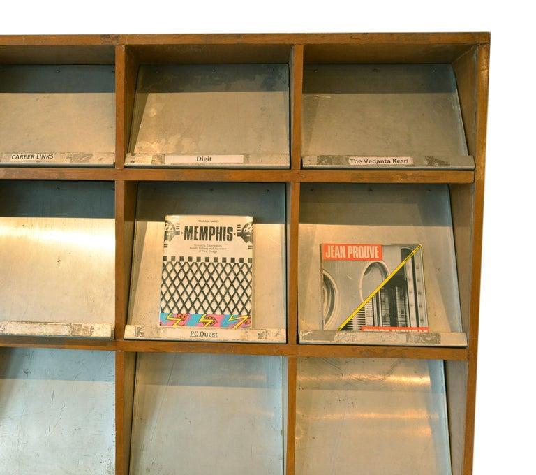 Pierre Jeanneret Periodical Bookcase For Sale 2
