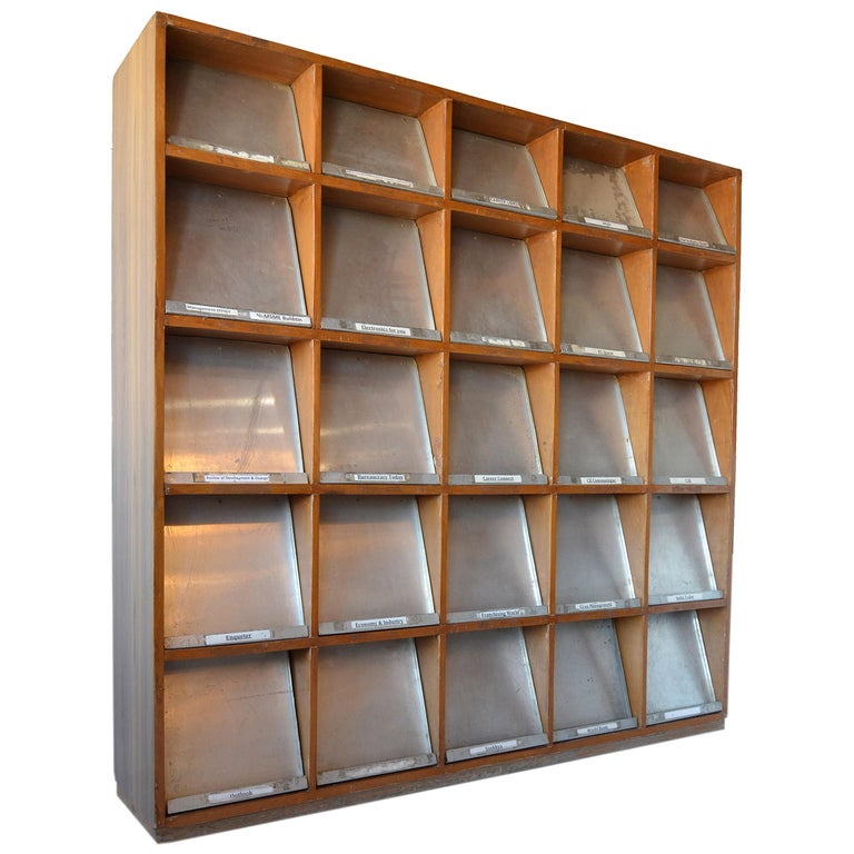 Pierre Jeanneret Periodical Bookcase For Sale