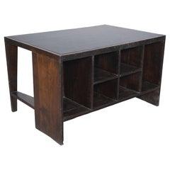 Pierre Jeanneret PJ-BU-02 Clark Table Chandigarh / Authentic Mid-Century Modern
