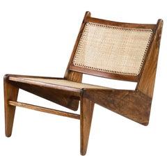 Pierre Jeanneret PJ-SI-25-A Kangaroo Chair / Authentic Mid-Century Modern