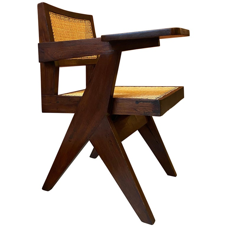 Pierre Jeanneret, PJ-SI-26-E, Writing Chair For Sale