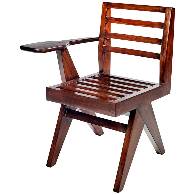 Pierre Jeanneret, PJ-SI-26-G, Writing Chair For Sale