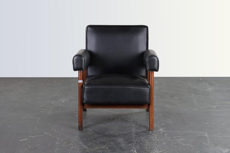 Mid-20th Century Pierre Jeanneret Bridge Chair  Authentic Mid-Century Modern PJ-SI-42-A  For Sale