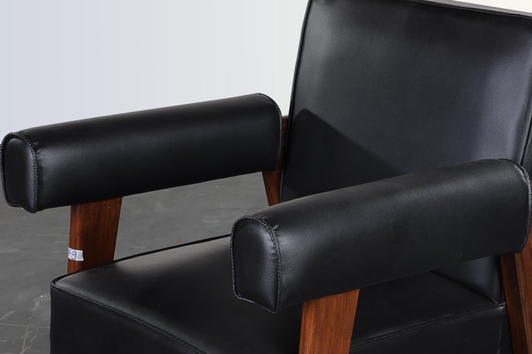 Pierre Jeanneret Bridge Chair  Authentic Mid-Century Modern PJ-SI-42-A  For Sale 1