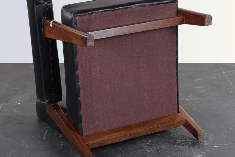 Pierre Jeanneret Bridge Chair  Authentic Mid-Century Modern PJ-SI-42-A  For Sale 2
