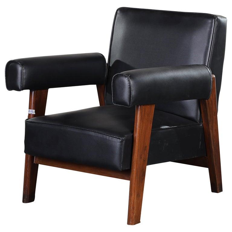 Pierre Jeanneret Bridge Chair  Authentic Mid-Century Modern PJ-SI-42-A  For Sale
