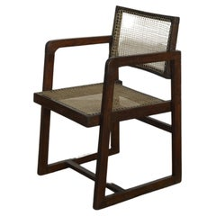 Pierre Jeanneret PJ-SI-53-A Box Chair / Authentic Mid-Century Modern Chandigarh
