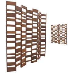 Contemporary Teak Room Divider