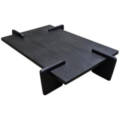 Pierre Jeanneret, Sculptural Coffee Table, Contemporary Reedition