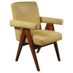 """Pierre Jeanneret """"Senate-Committee"""" Chair, India, 1950"""