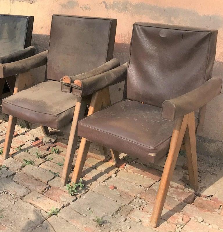 Pierre Jeanneret Set of Two