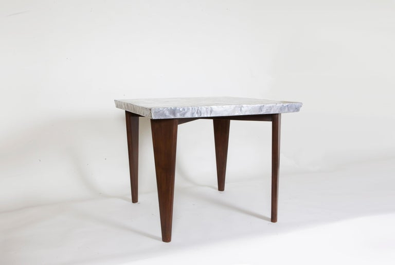 Pierre Jeanneret Square table, ca. 1955