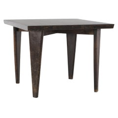 "Pierre Jeanneret ""Square"" Table, circa 1959-1960"