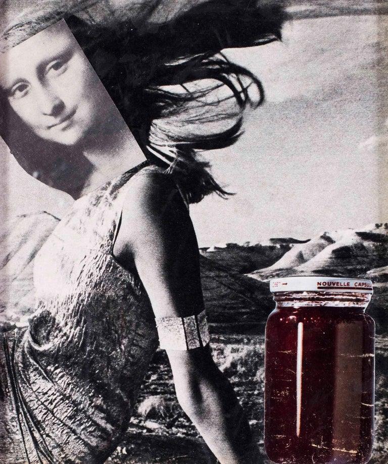 Original 1960's French Pop Art collage by Pierre Jourda 'Joconfiture' For Sale 2