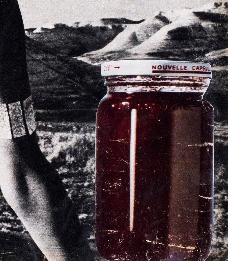 Original 1960's French Pop Art collage by Pierre Jourda 'Joconfiture' For Sale 4