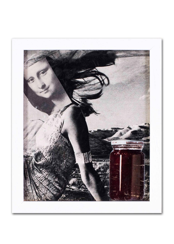 Original 1960's French Pop Art collage by Pierre Jourda 'Joconfiture' For Sale 5