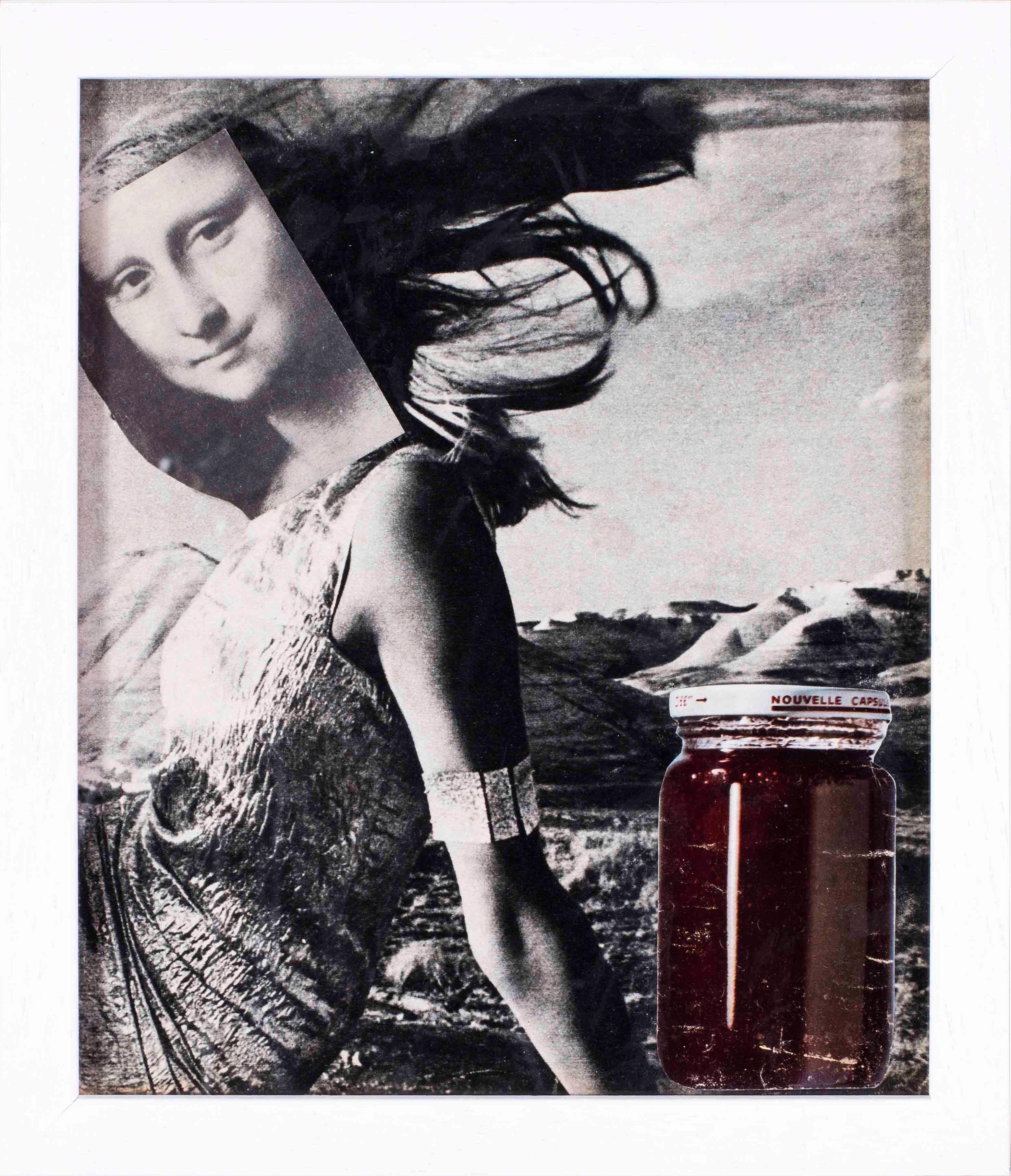 Original 1960's French Pop Art collage by Pierre Jourda 'Joconfiture'