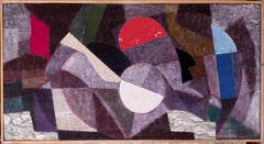 Mid 20th Century French large abstract 'La Grande Baigneuse', 1959