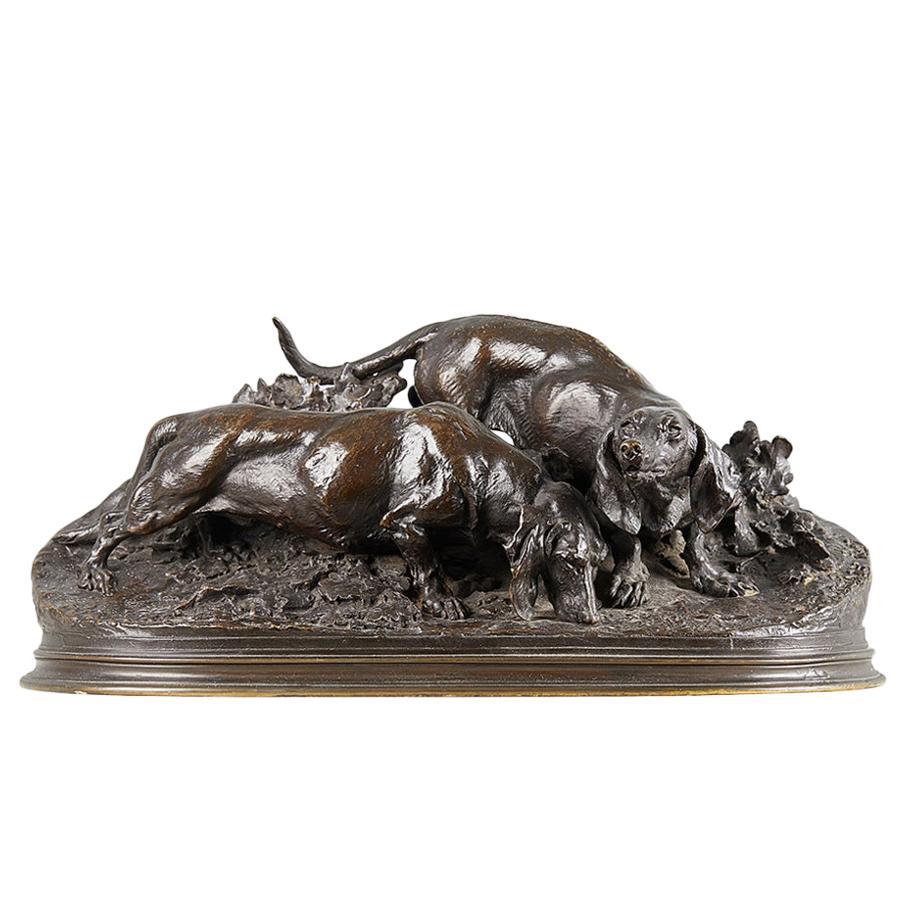 Pierre-Jules Mene Bronze Group