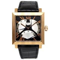 Pierre Kunz Spirit of Challenge 18 Karat Gold Triple Retrograde XL Wristwatch
