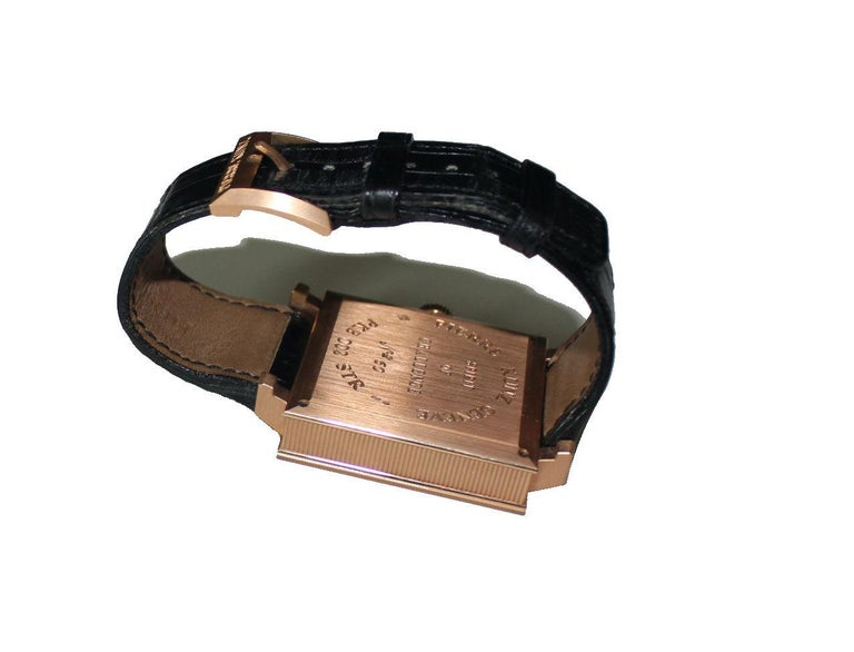 Pierre Kunz Spirit of Challenge Pink Gold Triple Retrograde Wristwatch For Sale 1