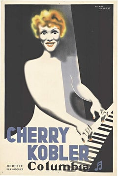 Cherry Kobler - Columbia, original French vintage poster full lithograph
