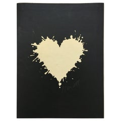 Pierre Mendel LTD ED Heart Portfolio Inscribed to Massimo Vignelli