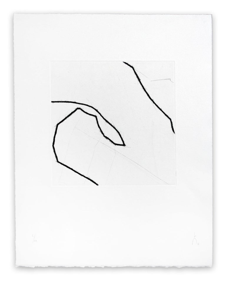 183s21051 (Abstract print) - Gray Abstract Print by Pierre Muckensturm