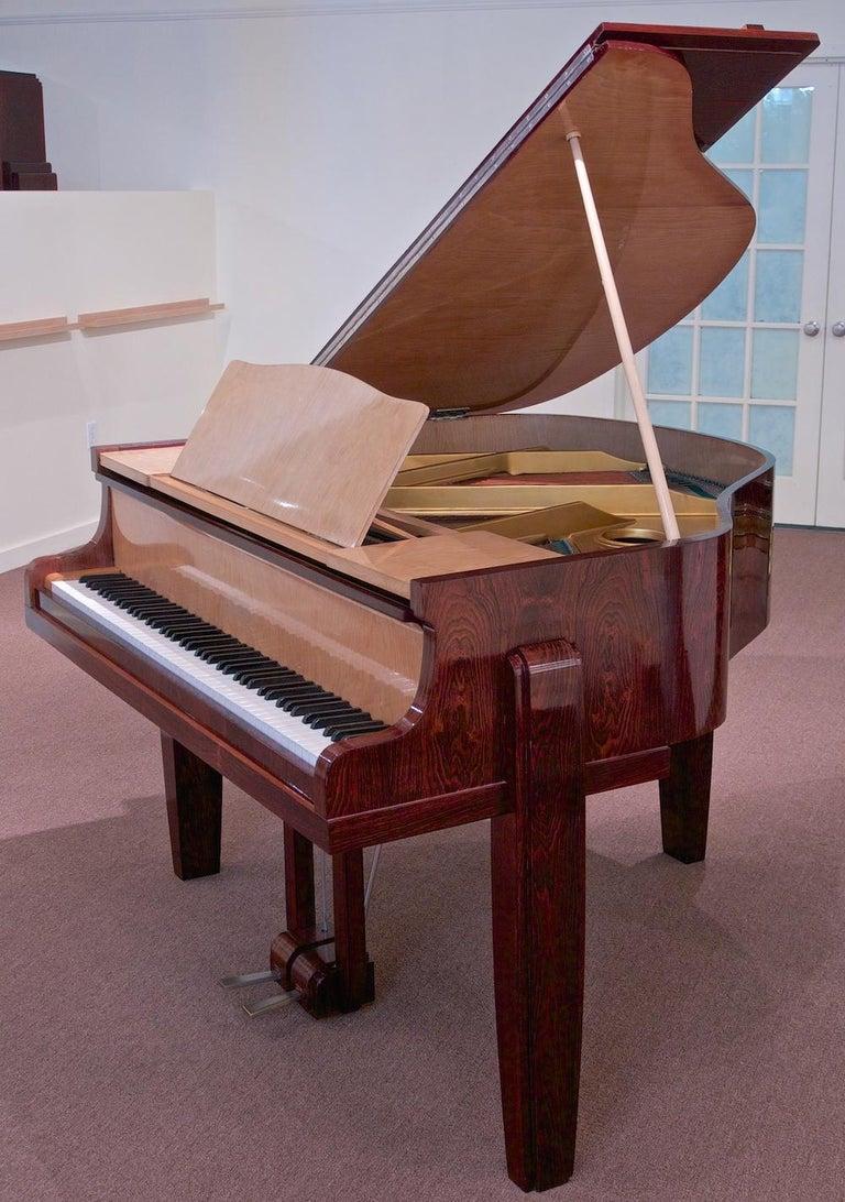 Art Deco Pierre-Paul Montagnac Modernist Piano For Sale
