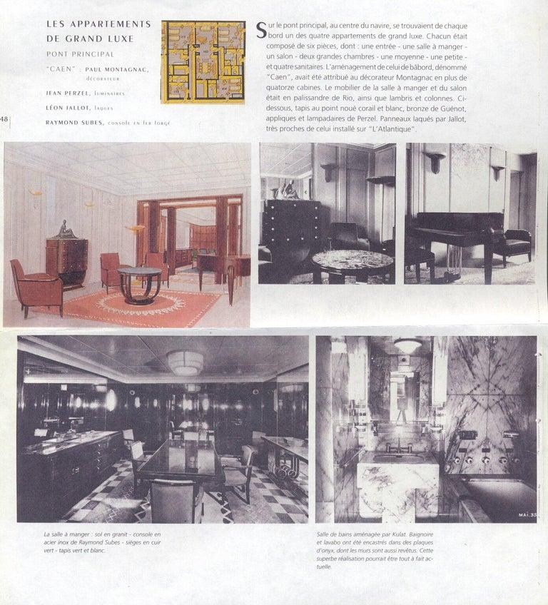 Pierre-Paul Montagnac Modernist Piano For Sale 1
