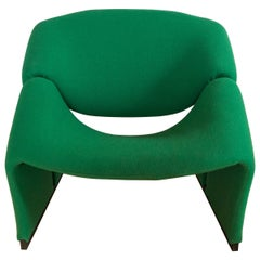Pierre Paulin First Edition Green Groovy Chair F580 for Artifort